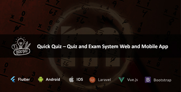 Quick Quiz – Quiz and Exam System Web and Mobile App ← Laravel