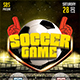 Free Download Soccer Game Flyer Template Nulled