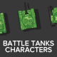 Main War Tank Characters - GraphicRiver Item for Sale