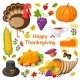 Happy Thanksgiving Day Poster Vector Illustration - GraphicRiver Item for Sale