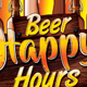 Beer Happy Hours - GraphicRiver Item for Sale