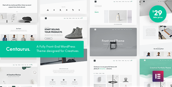 Centaurus - Creative Multipurpose WordPress Theme