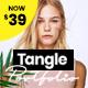 Tangle - Portfolio WordPress Agency - ThemeForest Item for Sale