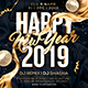 Free Download New Year Party Flyer Nulled