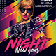 New Year Night Flyer Templates - GraphicRiver Item for Sale