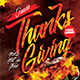 Thanks Giving Flyer Templates - GraphicRiver Item for Sale