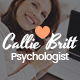 Callie Britt | Family Counselling Psychology WordPress Theme - ThemeForest Item for Sale