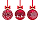 Three Christmas Balls - GraphicRiver Item for Sale