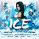 Free Download Winter Ice Party Flyer Nulled