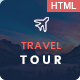 Free Download Travel Tour - Travel, Tour HTML Template Nulled