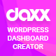 Free Download Daxxboard - WordPress Custom Dashboard Creator Nulled