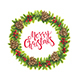 Christmas Wreath Isolation - GraphicRiver Item for Sale