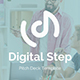 Digital Step Pitch Deck Powerpoint Template - GraphicRiver Item for Sale