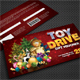 Toy Drive Gift Voucher - GraphicRiver Item for Sale