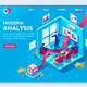 Modern Concept of Analysis - GraphicRiver Item for Sale