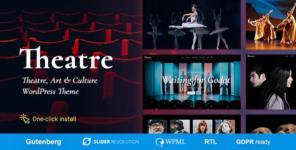 Theater - Concert & Art Event Entertainment Theme - Events Entertainment