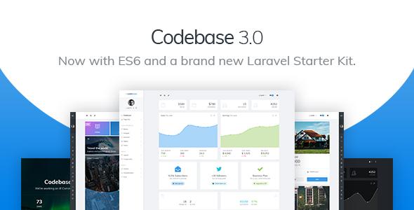 Codebase - Bootstrap 4 Admin Dashboard Template & Laravel Starter Kit