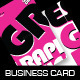 Pink Graphic Designing (Business Card) - GraphicRiver Item for Sale