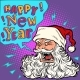 Bad Santa Happy New Year - GraphicRiver Item for Sale