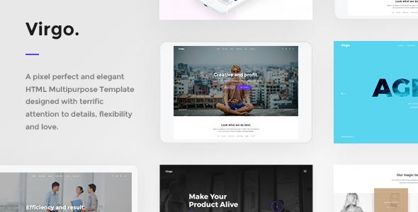 Virgo. - Multipurpose HTML Template - Creative Site Templates