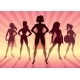 Girl Power Team - GraphicRiver Item for Sale