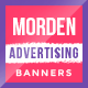 Free Download Advertising Web Banner Set Nulled