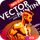 Vector Painting CS6 & CC+ Photoshop Action - GraphicRiver Item for Sale