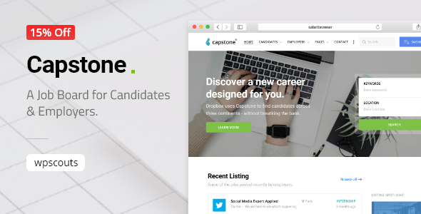 Capstone: Job Board for Candidates & Employers