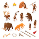 Primitive People Caveman Set - GraphicRiver Item for Sale