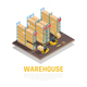 Warehouse Isometric Composition - GraphicRiver Item for Sale