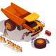 Haul Truck Isometric Composition - GraphicRiver Item for Sale