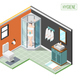Hygiene Isometric Design Concept - GraphicRiver Item for Sale