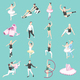 Ballet and Ballerinas Isometric Icons - GraphicRiver Item for Sale