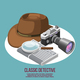 Classic Detective Isometric Composition - GraphicRiver Item for Sale