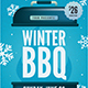 Winter BBQ Event Flyer - GraphicRiver Item for Sale