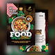 Christmas Food Menu  Postcard - GraphicRiver Item for Sale