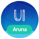 Free Download Aruna - Creative Template for Agency and Portfolio Nulled