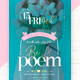 Be A Poem Flyer Template - GraphicRiver Item for Sale