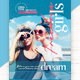 Freedom For Girls Flyer Template - GraphicRiver Item for Sale