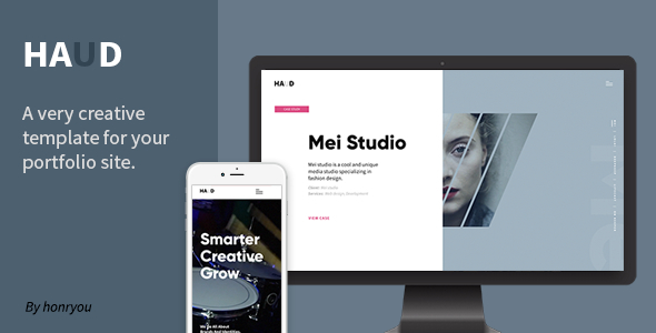 https://themeforest.net/item/haud-creative-portfolio-template/22977635?ref=dexignzone