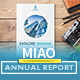 Annual Report - MIAO - GraphicRiver Item for Sale