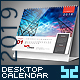 Premium Desktop Calendar - GraphicRiver Item for Sale