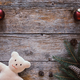 Christmas background with teddy bear. Space for text - PhotoDune Item for Sale