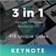 3 in 1 Multipurpose Keynote Template Bundle (Vol.07) - GraphicRiver Item for Sale
