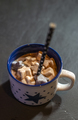 Marshmallow and milk in christmas cup - PhotoDune Item for Sale