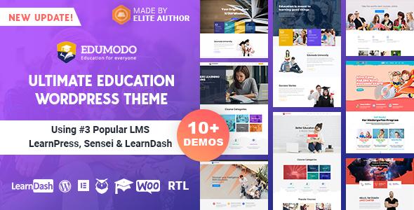 Edumodo - Education WordPress Theme - Education WordPress