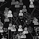 Social Network World Map - GraphicRiver Item for Sale
