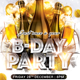 B-Day Party - GraphicRiver Item for Sale