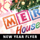 Merry House Kids Christmas Flyer - GraphicRiver Item for Sale