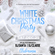 White Christmas Party Flyer - GraphicRiver Item for Sale